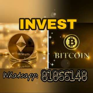 Invest in Bitcoin or Ethereum BTC ETH cryptocurrency min $500