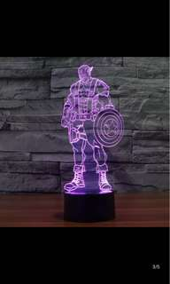 Captain America LED display