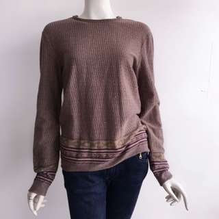 Auth DKNY violet oversized sweater