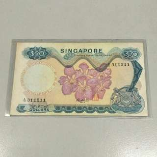 $50 Orchid Notes A31 311222
