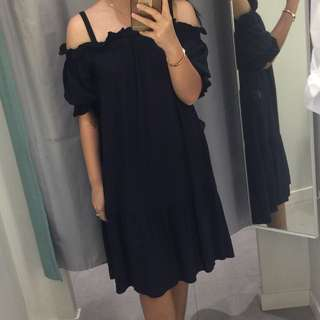 Dress Sabrina H&M (Navy Blue)