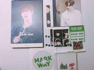 "GOT7 - Markstouch ""Mark Way"" 2018 Seasons Greetings"