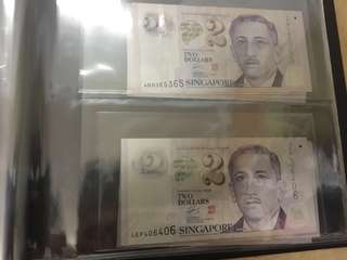 $2 notes repeater 365365 406406