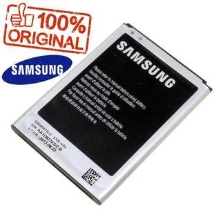 Galaxy Note 2 2017 manufactured Ori Samsung Battery 3100mAh