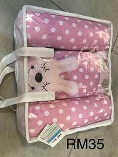 Baby Kiko Pillow Set - Pink