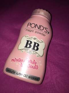 Pond's magic powder
