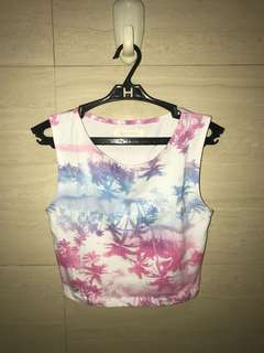 68 ; fitted croptop