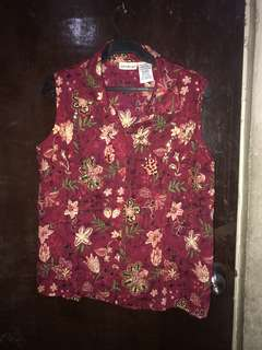 Terno blouse and skirt