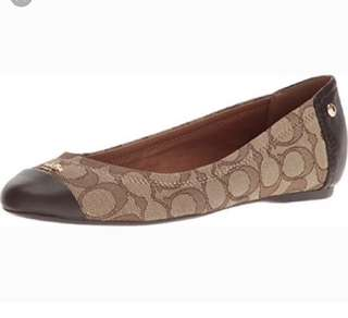 🚚 Coach  平底鞋 娃娃鞋 6.5=37