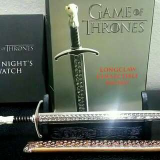Game of Thrones - Longclaw Sword collectible