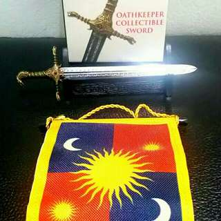 Game of Thrones - Oathkeeper's Collectible Sword