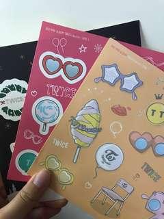 Twice sticker