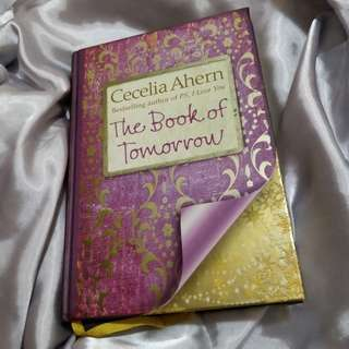 Cecelia Ahern The Book of Tomorrow Hardcover