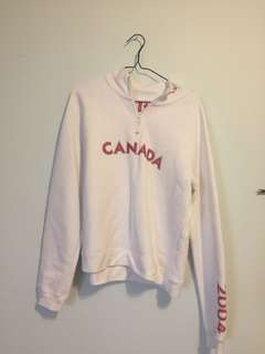 2004 Roots Olympic Canada 1/4 Zip