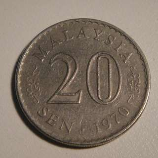 20 cents 1970