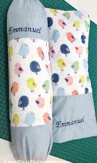 Customise baby pillowcase set