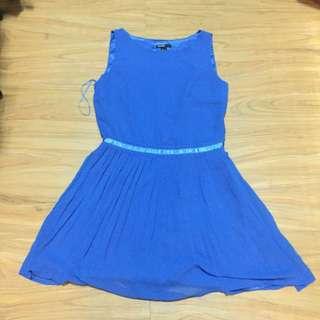 Mango Blue Dress Casual