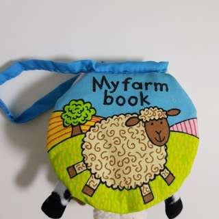 Jellycat My Farm Cloth Book (11cm)