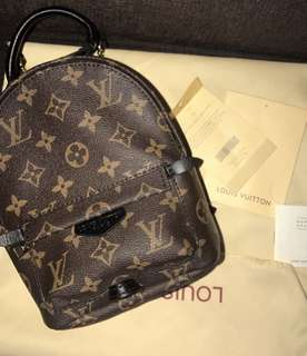 Lv palm spring bag pack