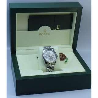 Rolex Ref.116234 Date Just 銀灰面 日歷 自動 男裝手錶 w/Box