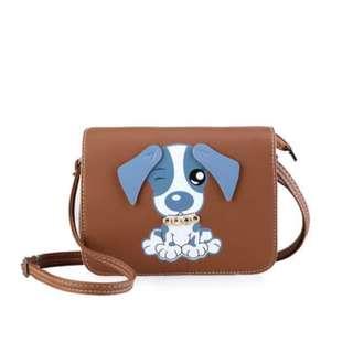 PRE-ORDER: Dog Design Sling Bag