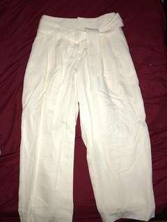 "Club Monaco off white/ivory ""domme pant"""