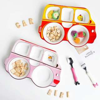 Toddler Plate (Bus)