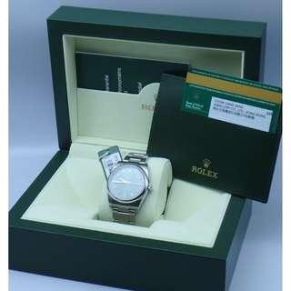 香港888行貨 (周生生) Rolex ref.114200 Oyster Perpetual Olive greenl 34mm W/Box