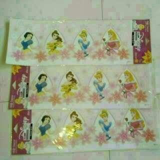 Disney Princesses Glowing Border Stickers