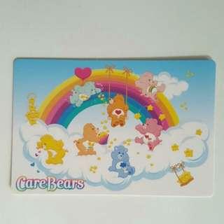 Brand New Authentic Care Bears Rainbow Postcard / Greeting Card