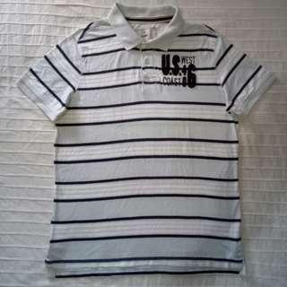 Celio Striped Polo Shirt