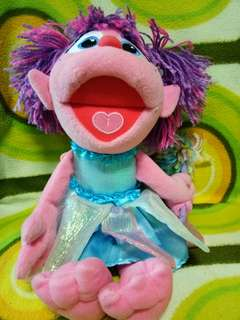 """12"""" doll from sesame st"""