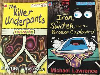 Killer underpants by Michael Lawrence