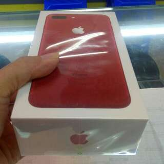 Iphone 7 plus 256GB RED kredit cepat.