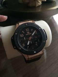 High Quality Black & Gold Men's Watch