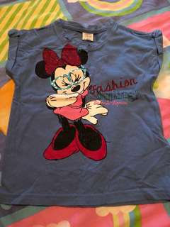 Minnie Blue Top