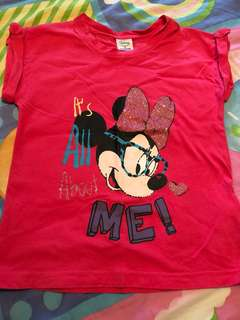Minnie Red Top