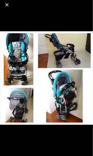 Latino pram stroller condition 8/10