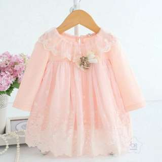 Baby doll dress for baby girls
