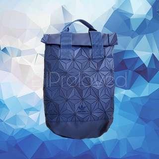 Adidas Originals 3D Mesh Roll Top Backpack Navy Blue