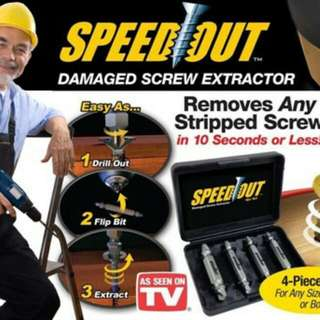 Speed Out Screw Extractor
