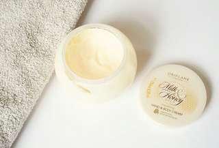 Oriflame milk honey body cream
