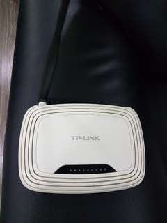 Wireless Router TP-Link TL- WR740N Wireless Router (white)