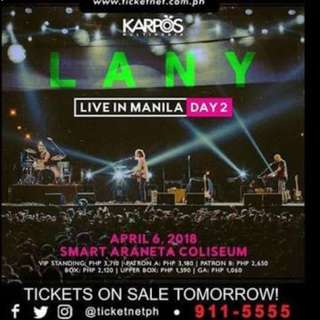 Lany Live in Manila Day 2