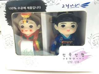 [Authentic] Korean Couple Figurine