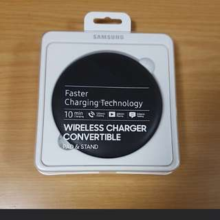 Fast charger wireless charger convertible