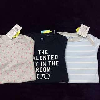 NET 針織嬰幼兒連身服