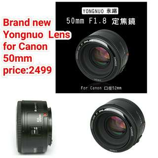 Yongnuo Lens for Canon