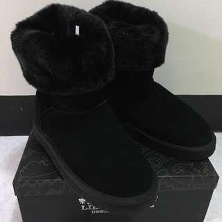 日韓時尚雪靴(US 10)