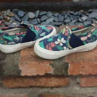 Flower Cotton On Shoes